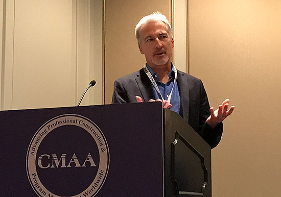 Don Greb P.E. was invited to speak at the CMAA 2017 Capital Projects Symposium held in New Orleans