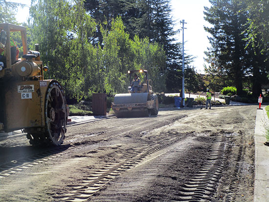 Orinda City's Measure J & L funded Pavement Rehabilitation Project
